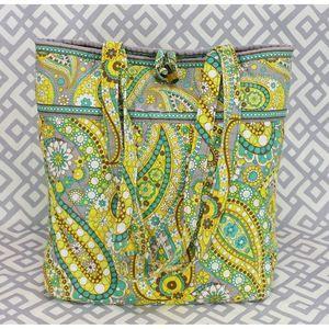 Vera Bradley Lemon Parfait Tote Bag